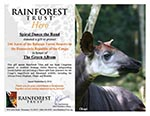 Rainforest Trust Certificate